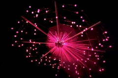 Photon laser art by Mikro