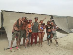 Dragon Burn Organisers at Burning Man in 2016