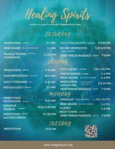Healing Spirits Workshops