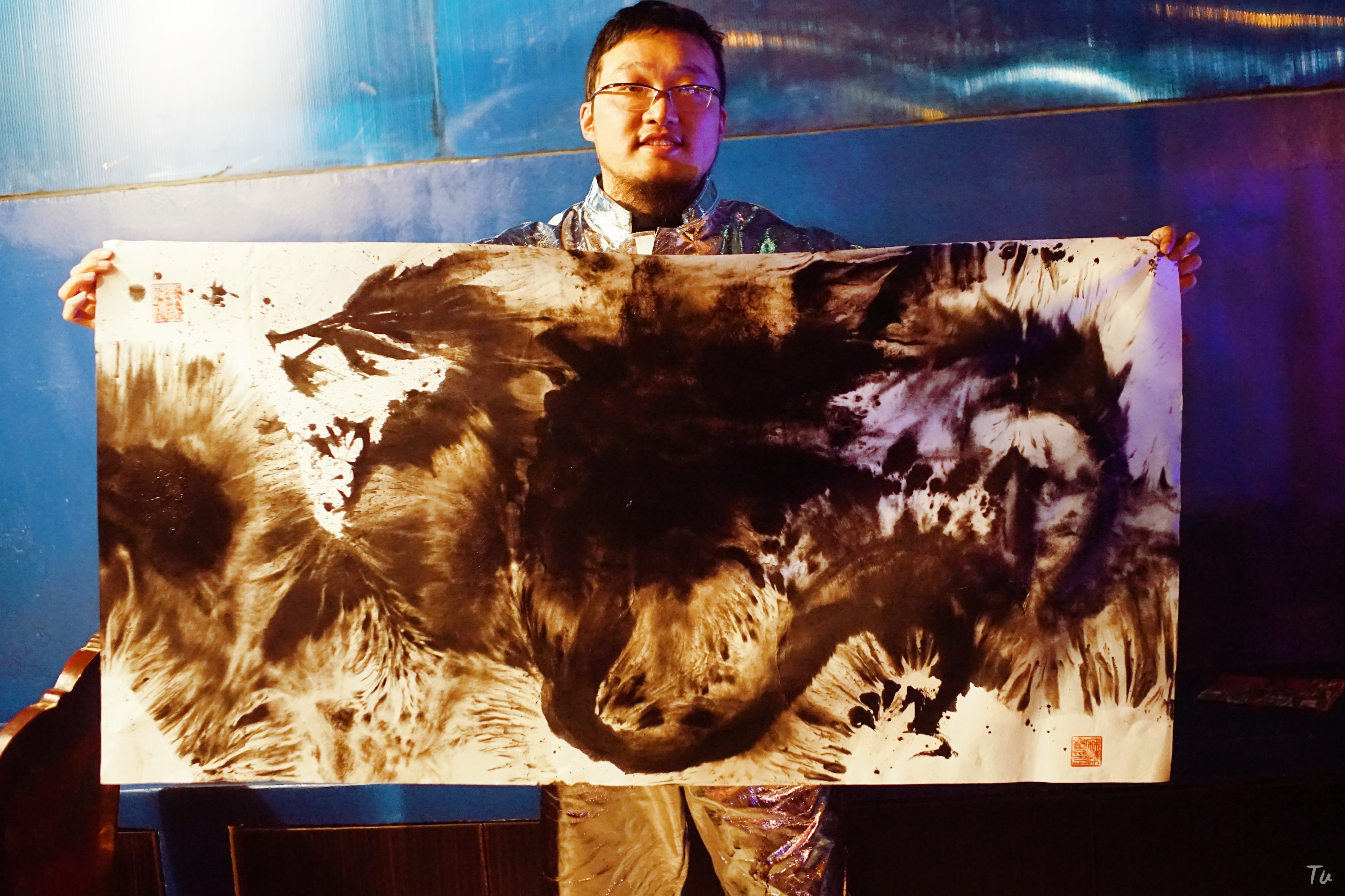 Live painting - photo by Tutu