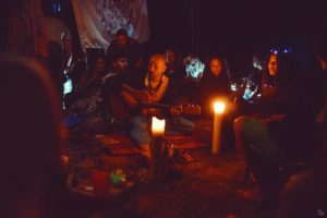 Camp Jamboree – don't need no electricity! Got a match?