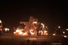 Effigy fire show - Picture by Kassandra Dambacher-Willis