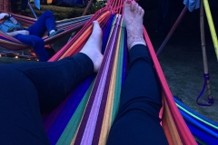 Relaxing in Hammockville - Picture by Kassandra Dambacher-Willis