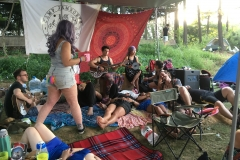 Jamming at Camp Jamboree - Picture by Armands Strauja