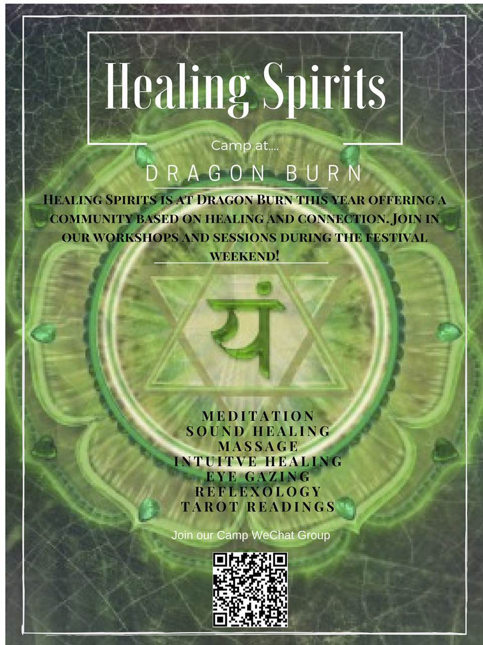 Healing Spirits Workshops