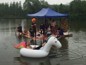 竹筏漂流, 2016