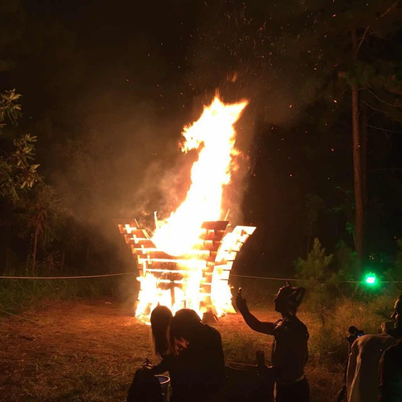 A Brief History of Dragon Burn Effigies
