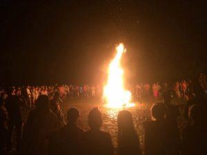 燃烧的当晚2016,龙雕塑