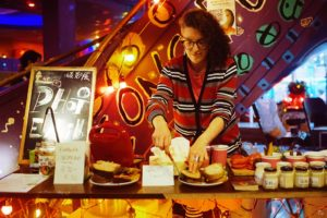 Cucumburners serve vegan food at Shanghai Decompression