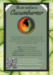 Scan the QR code to join the Cucumburners theme camp!